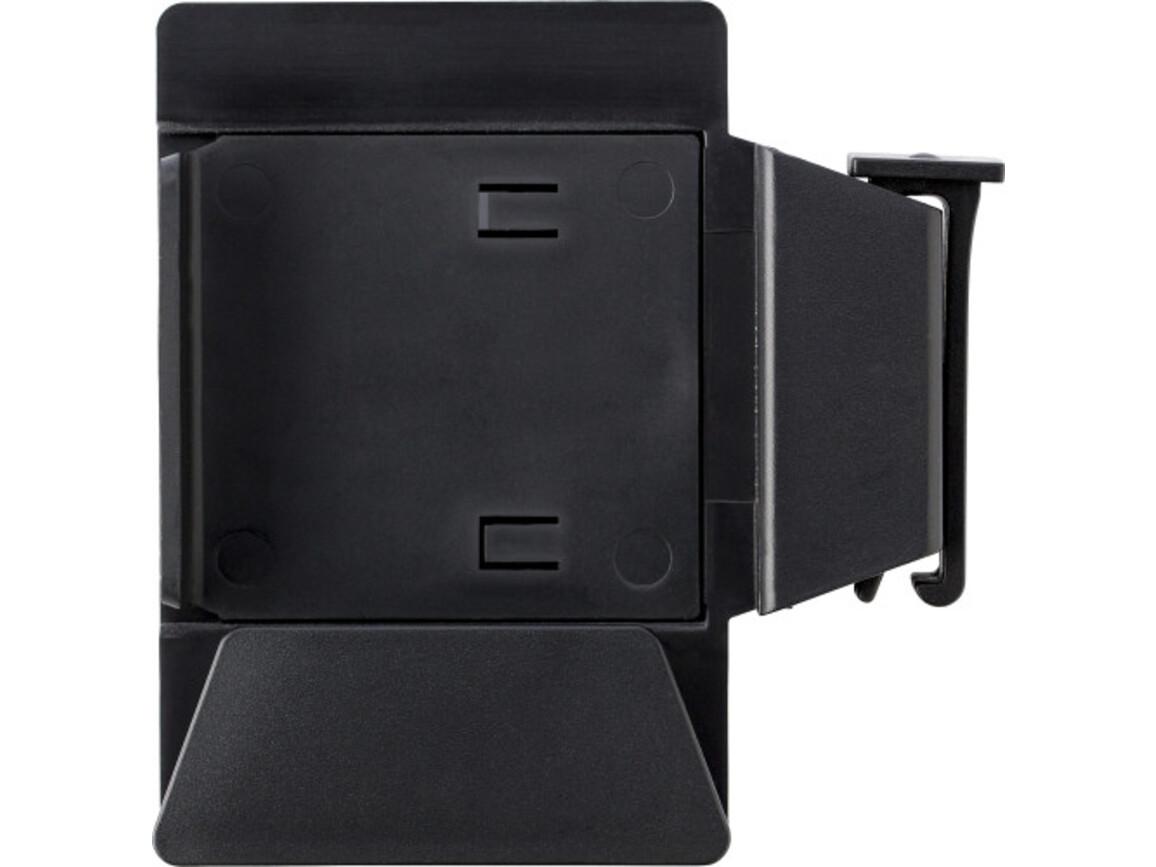 Handyhalter 'Premium' aus Kunststoff – Schwarz bedrucken, Art.-Nr. 001999999_6936