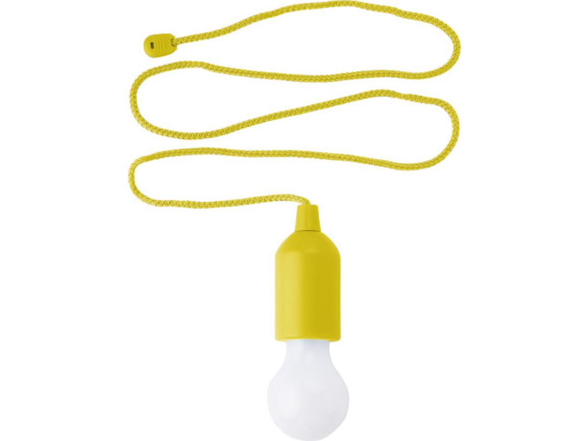 LED-Lampe 'Sonda' aus ABS-Kunststoff – Gelb bedrucken, Art.-Nr. 006999999_6984