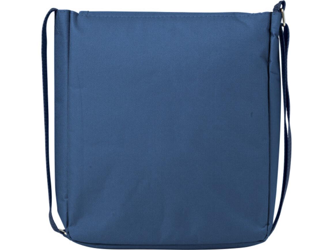Citytasche 'Aviator' aus Polyester – Blau bedrucken, Art.-Nr. 005999999_7259