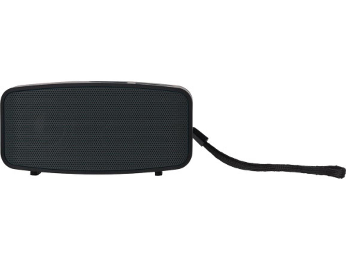 Lautsprecher 'Smartline' aus Kunststoff – Schwarz bedrucken, Art.-Nr. 001999999_7304