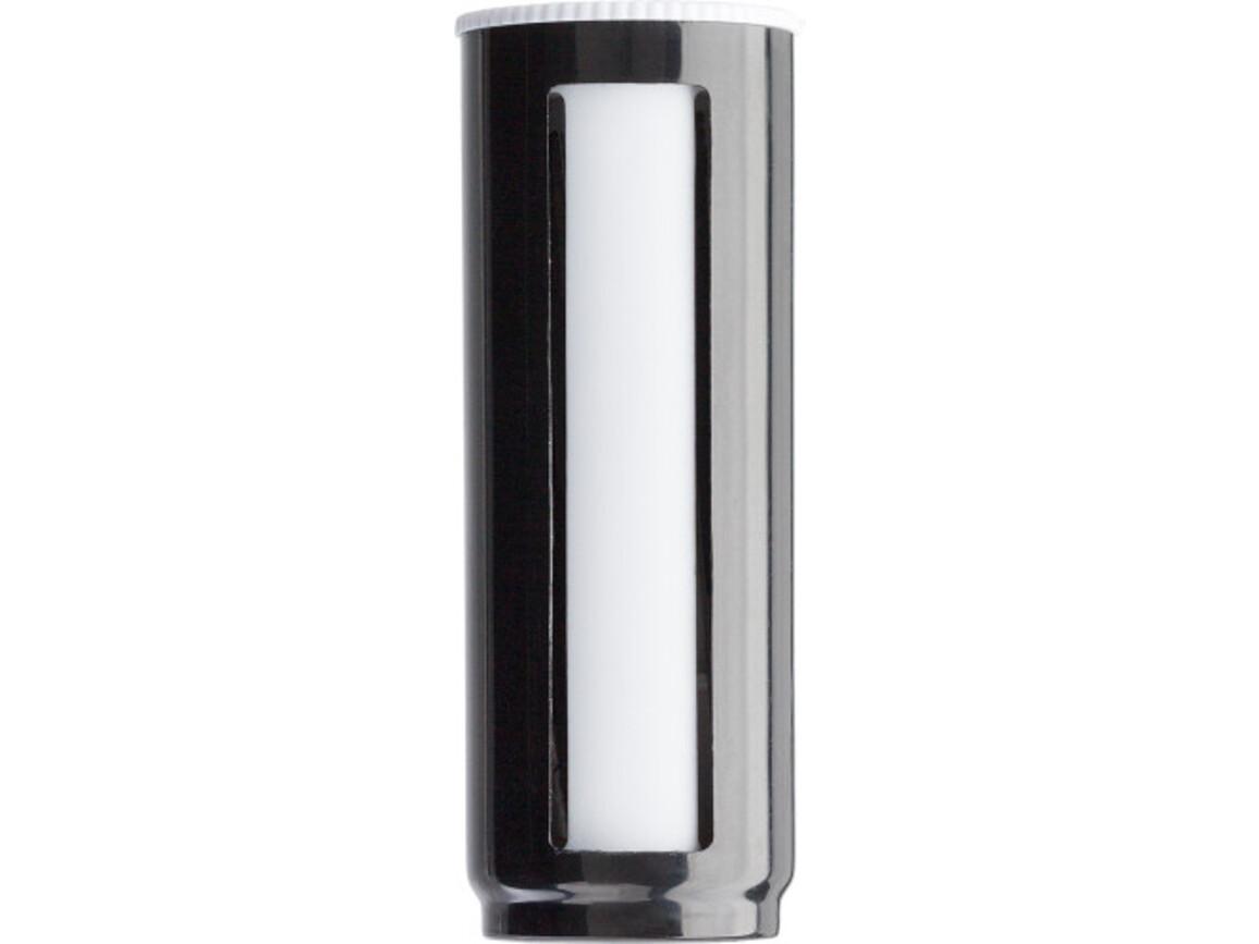 Manikürset 'Rondell' aus Kunststoff – Schwarz bedrucken, Art.-Nr. 001999999_7306