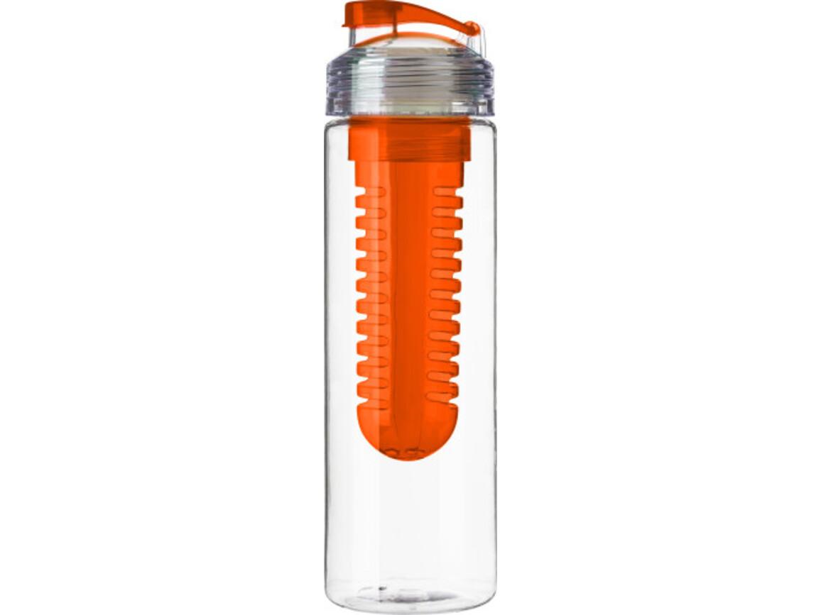 Trinkflasche 'Berlin' aus Kunststoff – Orange bedrucken, Art.-Nr. 007999999_7307