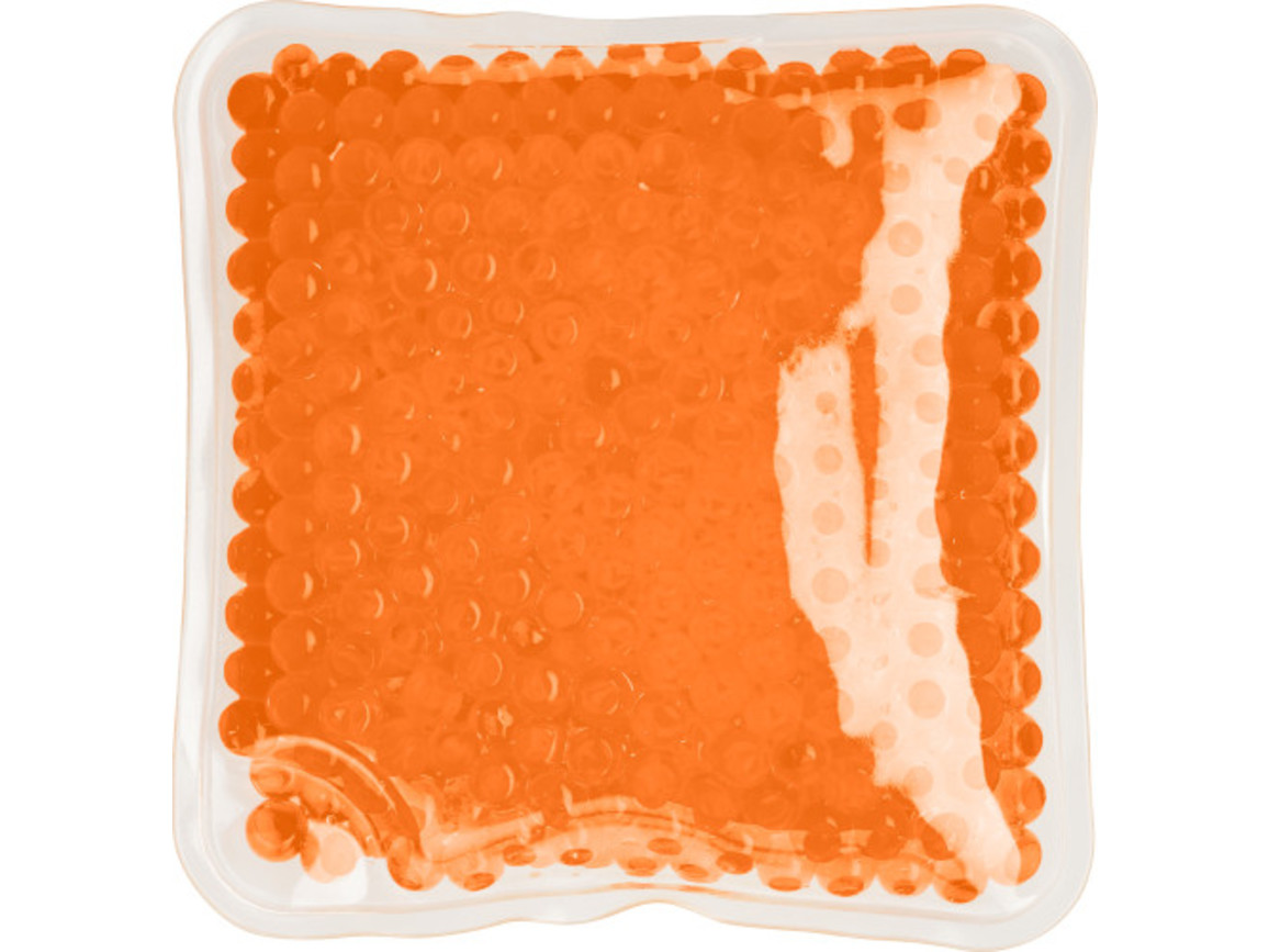 Kühl- & Wärmekissen 'Relax' aus PVC – Orange bedrucken, Art.-Nr. 007999999_7413