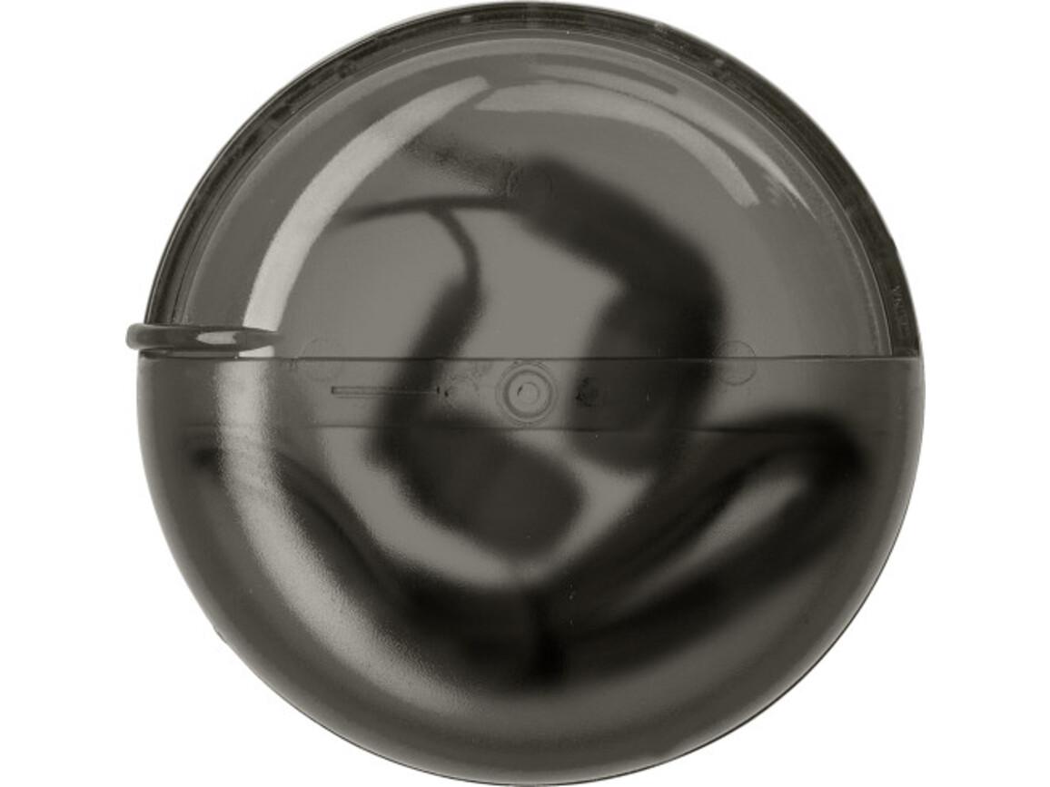 Kopfhörer 'Sound' aus Kunststoff – Schwarz bedrucken, Art.-Nr. 001999999_7476