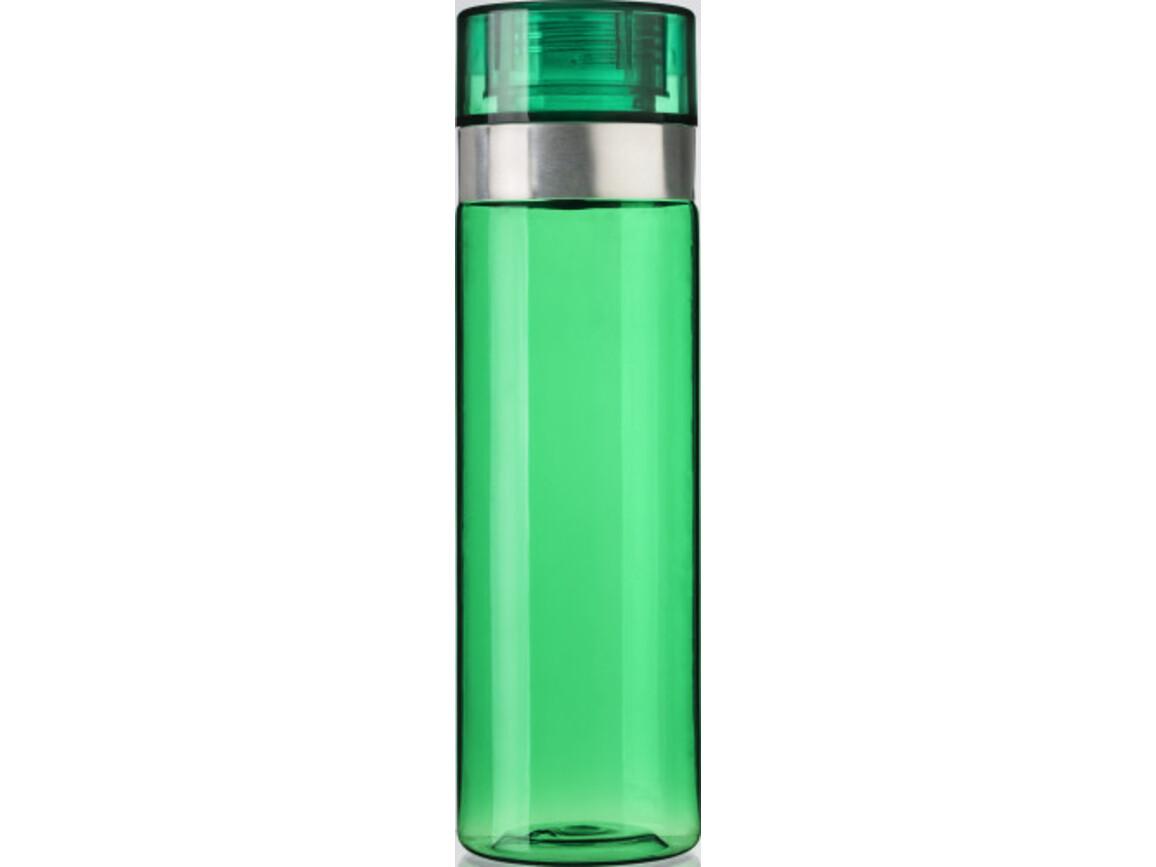 Trinkflasche 'Titan' aus Kunststoff – Grün bedrucken, Art.-Nr. 004999999_7479