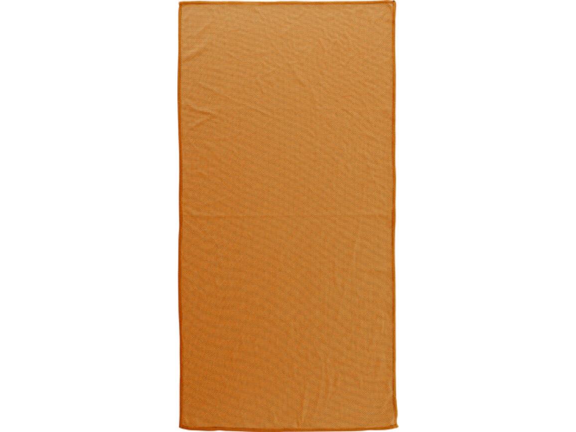 Handtuch 'Dry' aus Microfaser – Orange bedrucken, Art.-Nr. 007999999_7483