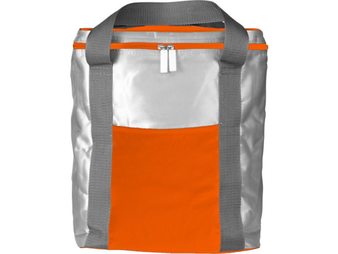 Kühltasche 'Volume' aus Polyester – Orange bedrucken, Art.-Nr. 007999999_7504