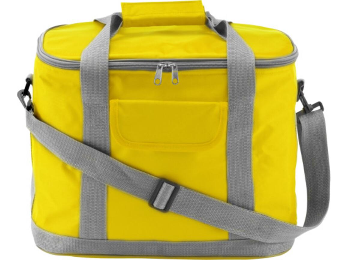 Kühltasche 'Morello' aus Nylon – Gelb bedrucken, Art.-Nr. 006999999_7521