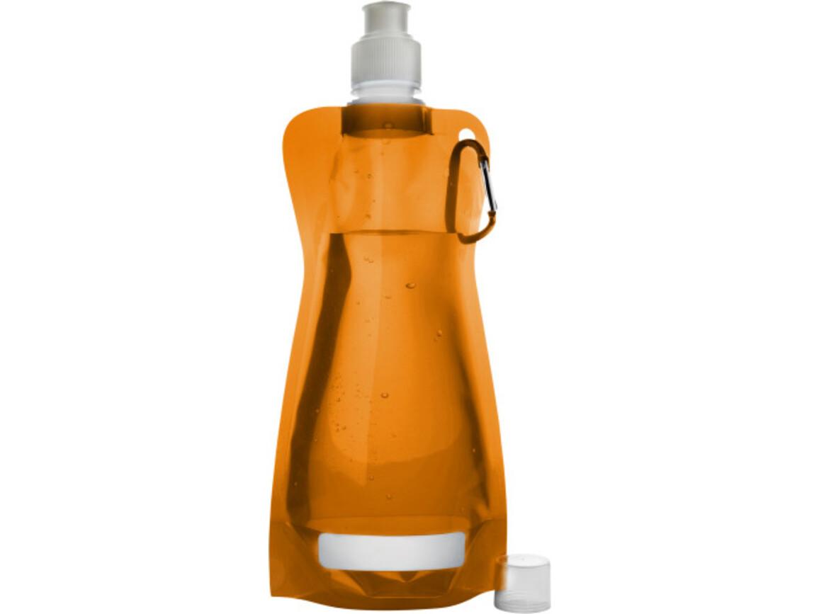 Trinkflasche 'Basic' aus Kunststoff – Orange bedrucken, Art.-Nr. 007999999_7567
