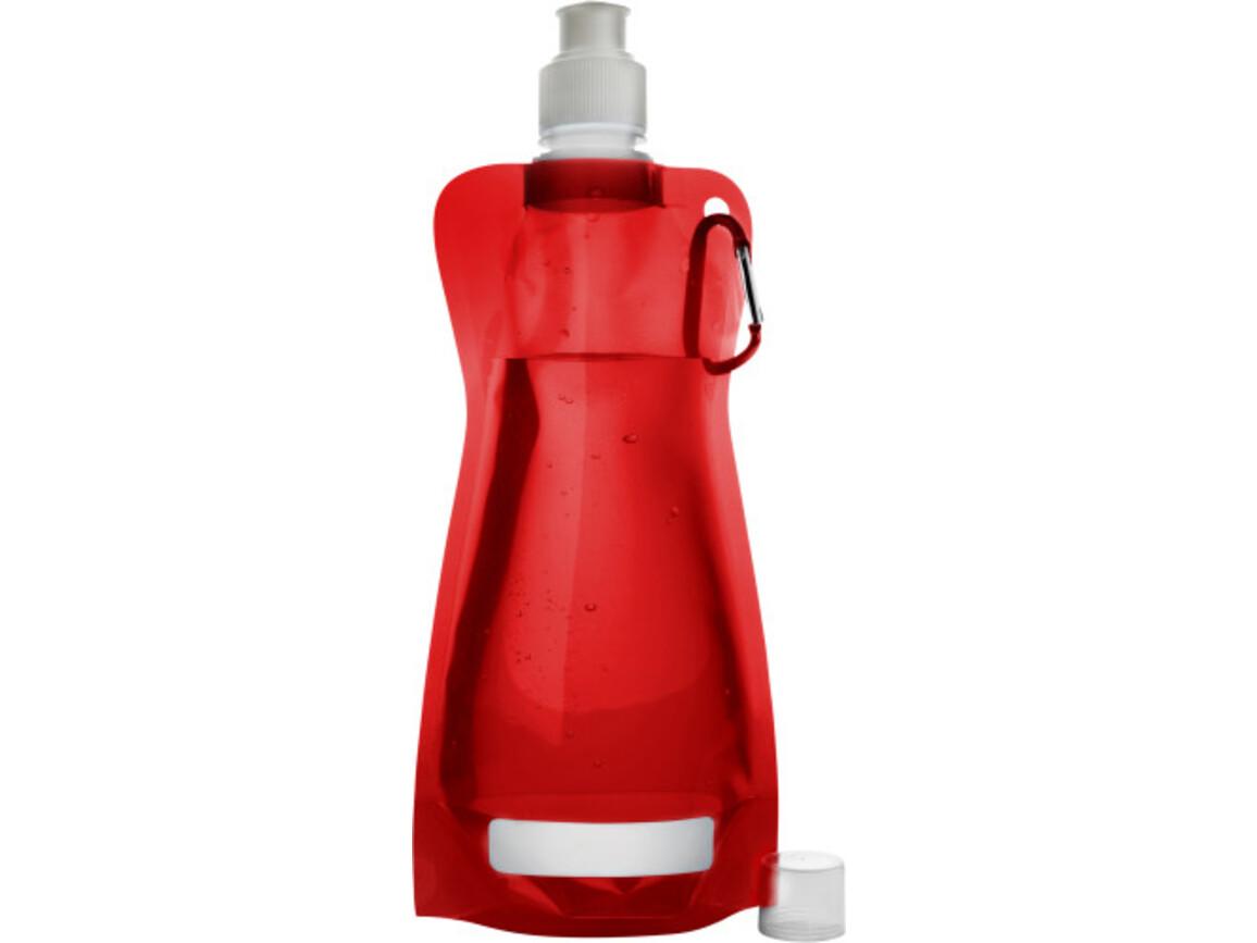 Trinkflasche 'Basic' aus Kunststoff – Grün bedrucken, Art.-Nr. 004999999_7567