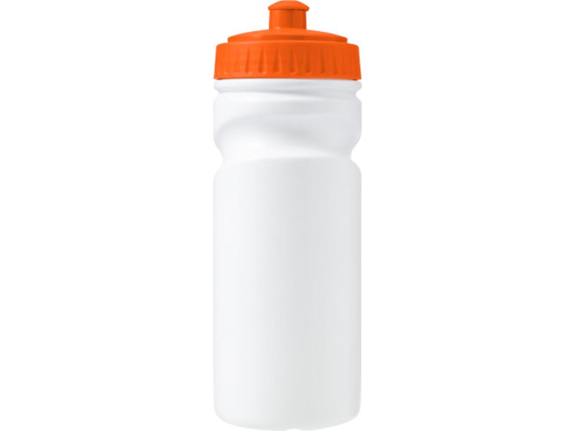 Trinkflasche 'Livorno' aus Kunststoff – Orange bedrucken, Art.-Nr. 007999999_7584