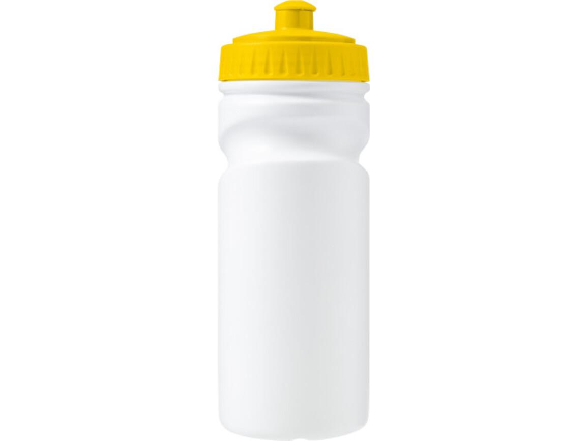 Trinkflasche 'Livorno' aus Kunststoff – Gelb bedrucken, Art.-Nr. 006999999_7584