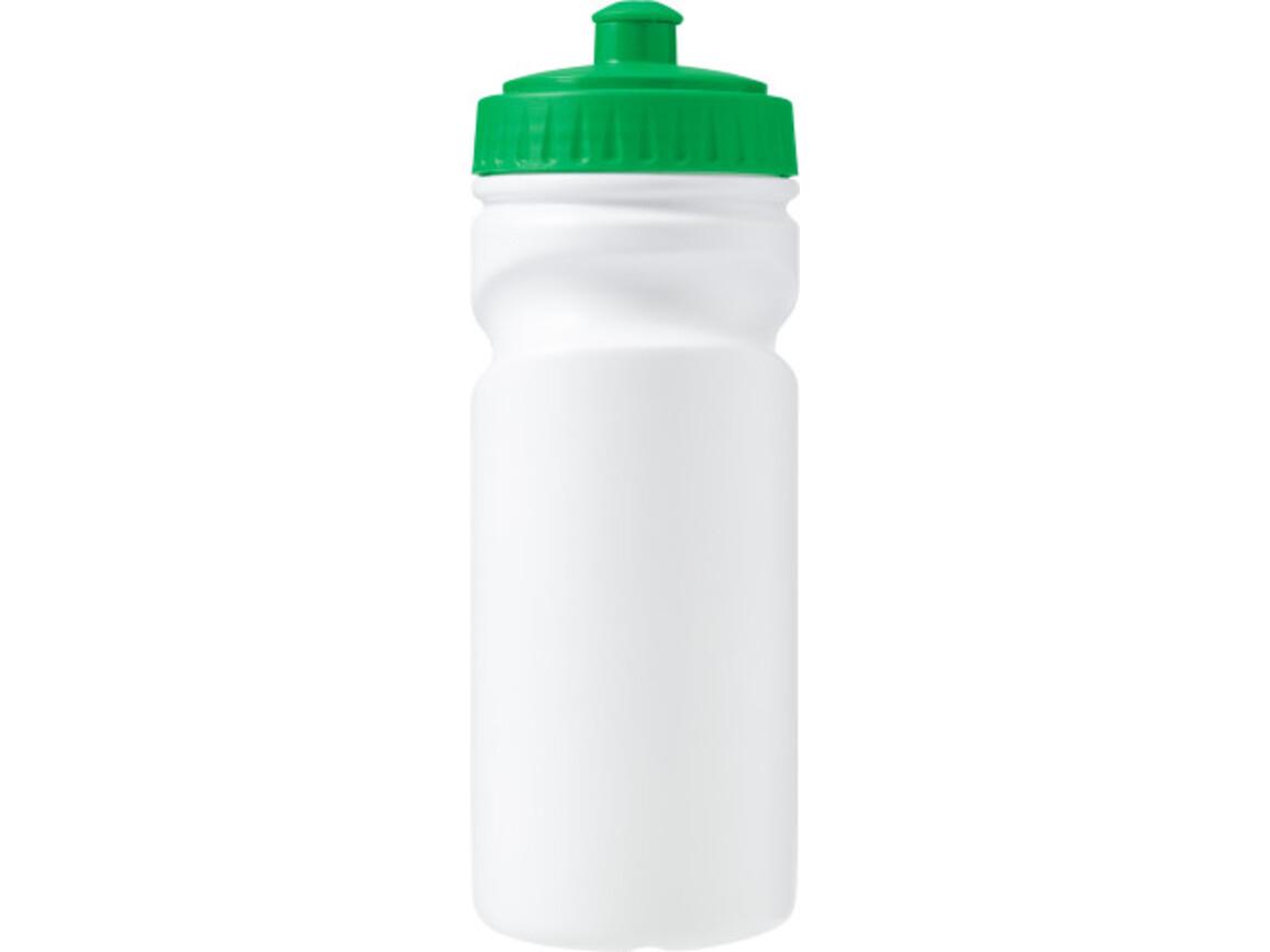 Trinkflasche 'Livorno' aus Kunststoff – Grün bedrucken, Art.-Nr. 004999999_7584
