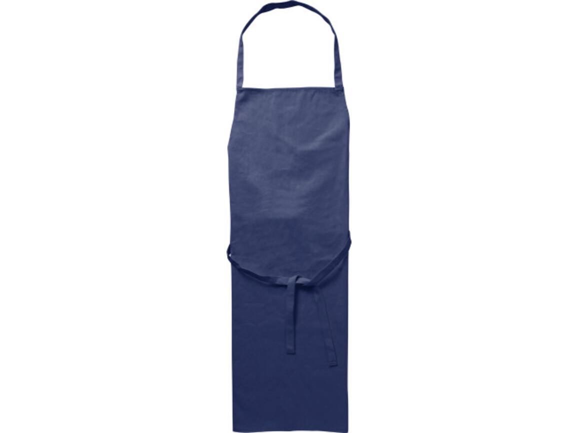 Küchenschürze 'Profi' aus Baumwolle – Blau bedrucken, Art.-Nr. 005999999_7600