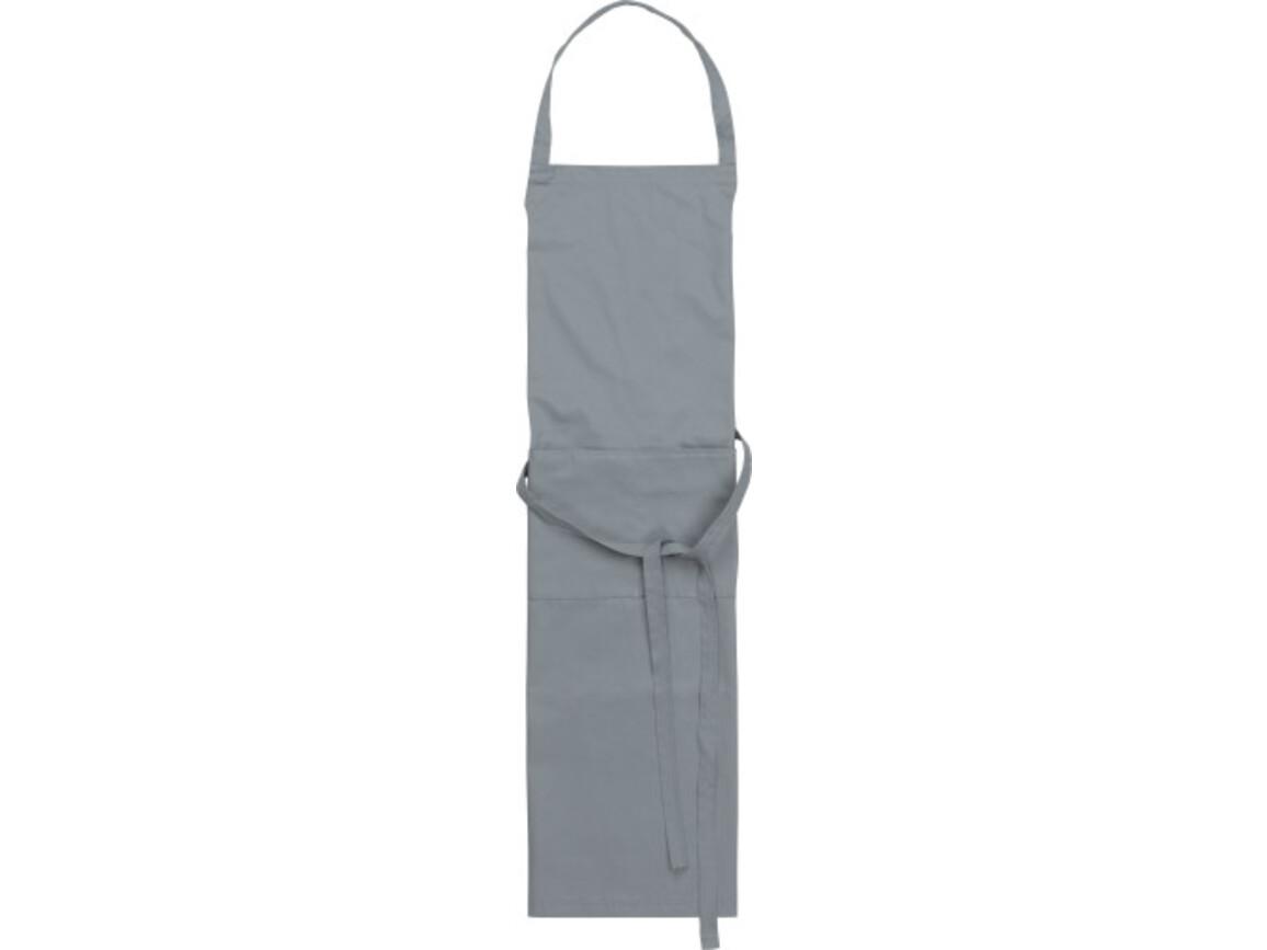 Küchenschürze 'Cuisine' aus Polyester/Baumwolle – Grau bedrucken, Art.-Nr. 003999999_7635