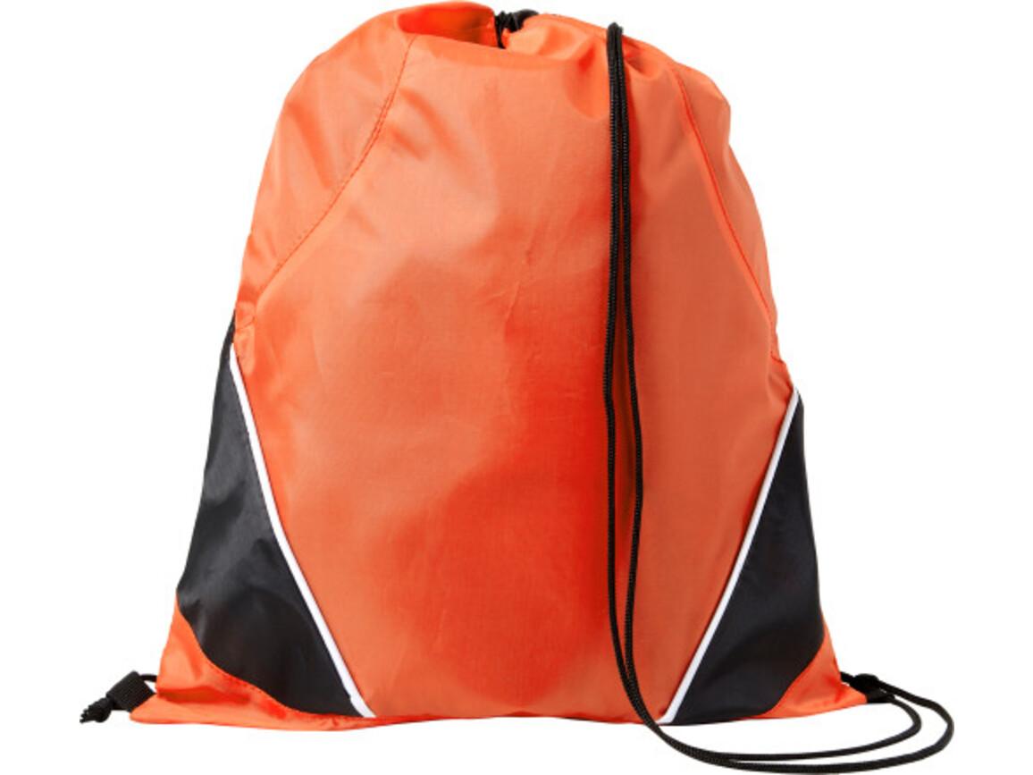Schuh-/Rucksack (Turnbeutel) 'Westford' – Orange bedrucken, Art.-Nr. 007999999_7643