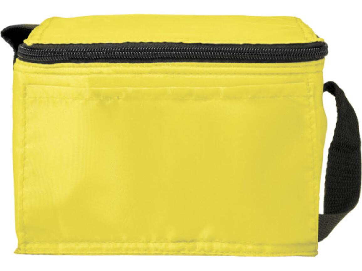 Kühltasche 'Butler' aus Polyester – Gelb bedrucken, Art.-Nr. 006999999_7651