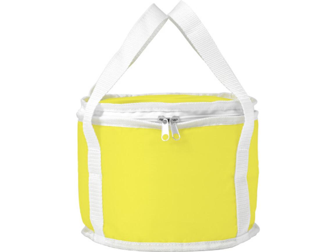 Kühltasche 'Picknick' aus Polyester – Gelb bedrucken, Art.-Nr. 006999999_7653