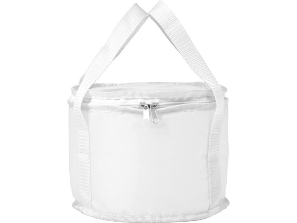 Kühltasche 'Picknick' aus Polyester – Weiß bedrucken, Art.-Nr. 002999999_7653