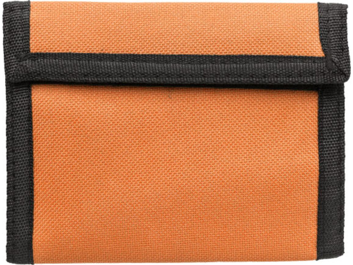 Geldbörse 'Trend' aus Polyester – Orange bedrucken, Art.-Nr. 007999999_7664