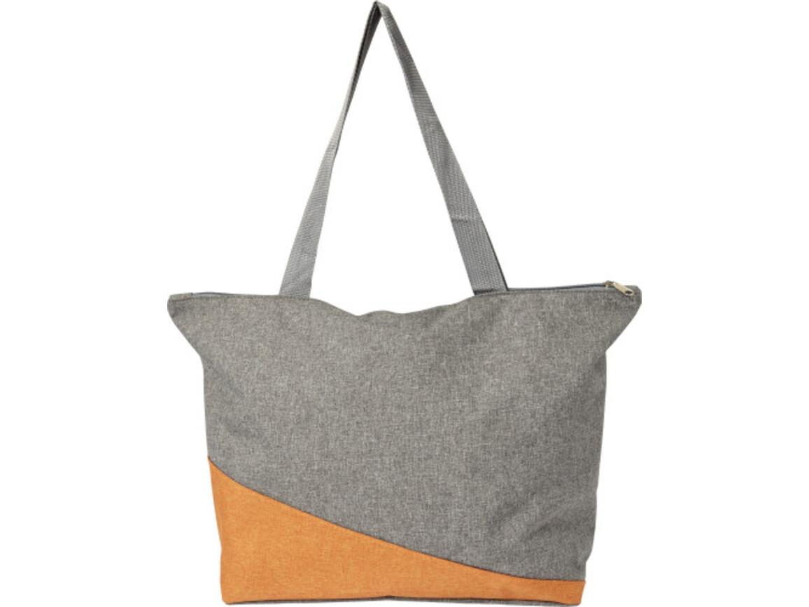Einkaufstasche 'Oslo' aus Polycanvas – Orange bedrucken, Art.-Nr. 007999999_7728