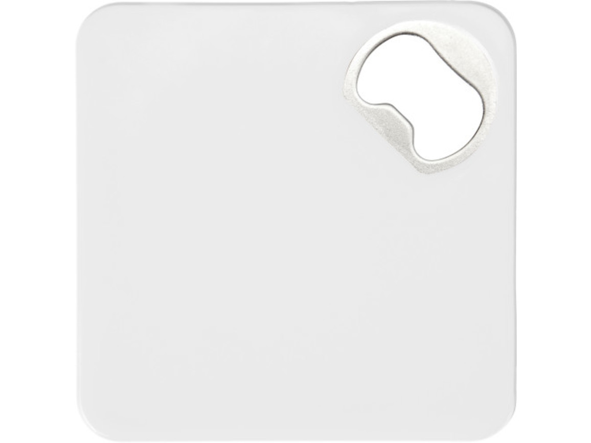 Untersetzer 'Cheers' aus HIPS-Kunststoff – Weiß bedrucken, Art.-Nr. 002999999_7769