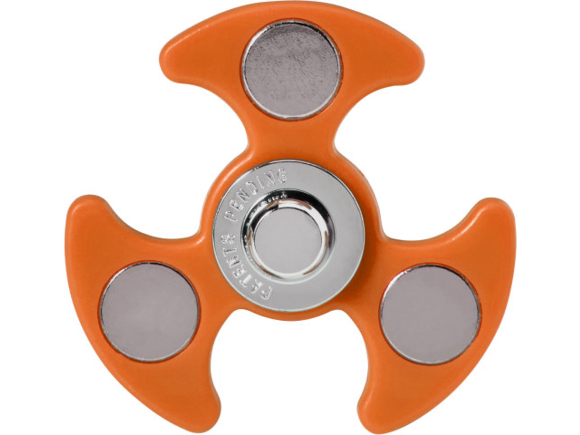 Kugelschreiber 'Spinner' aus Kunststoff – Orange bedrucken, Art.-Nr. 007999999_7780