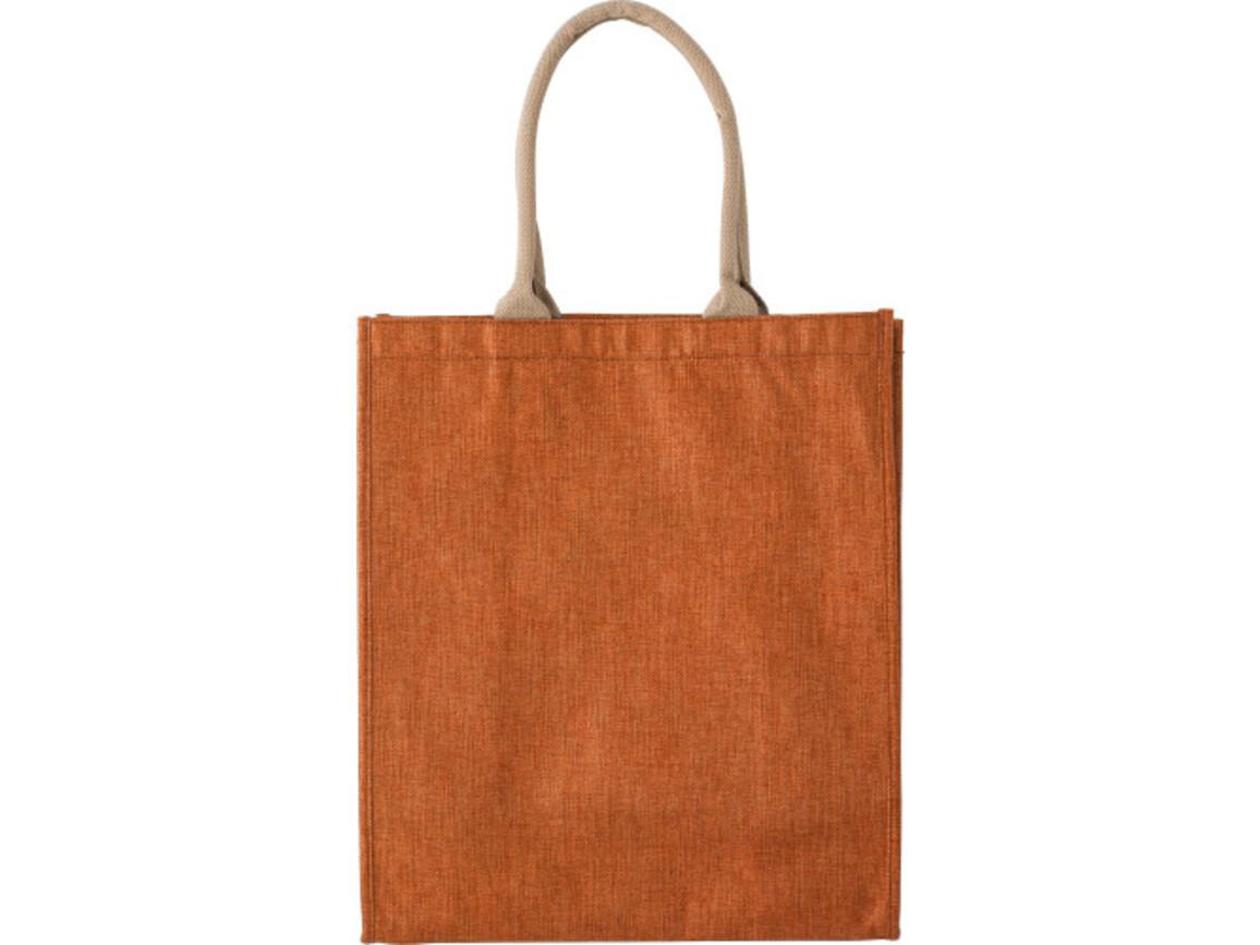 Einkaufstasche 'Candle' aus Polyester – Orange bedrucken, Art.-Nr. 007999999_7798
