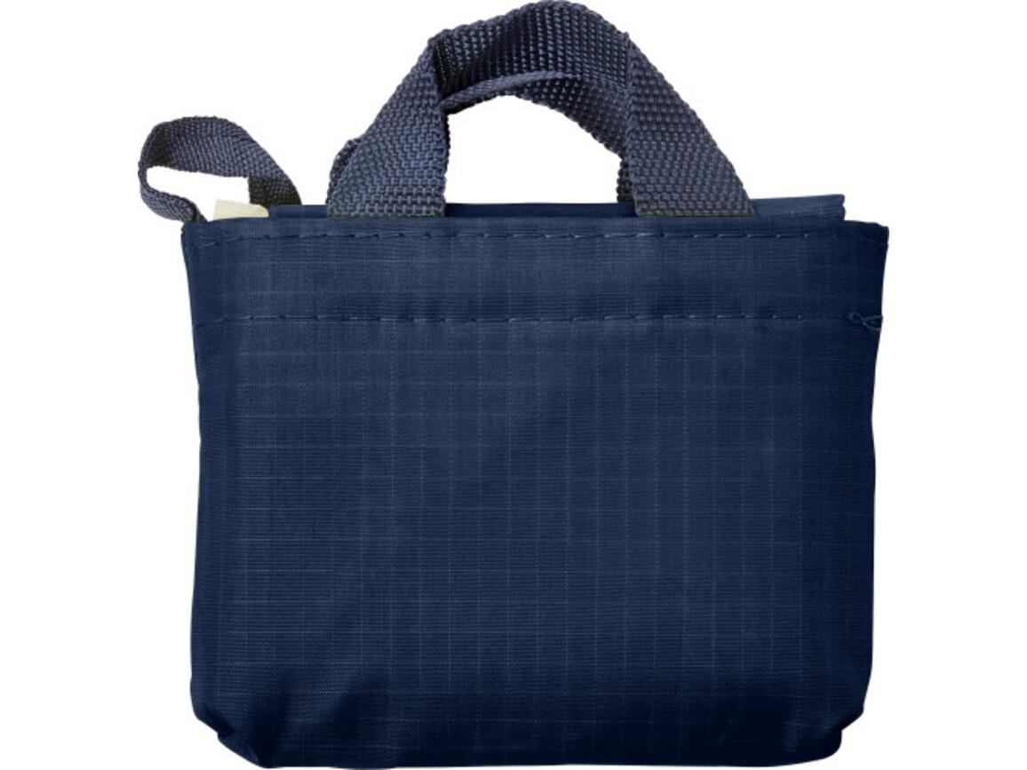 Einkaufstasche 'Elke' aus reißfestem Polyester – Blau bedrucken, Art.-Nr. 005999999_7799