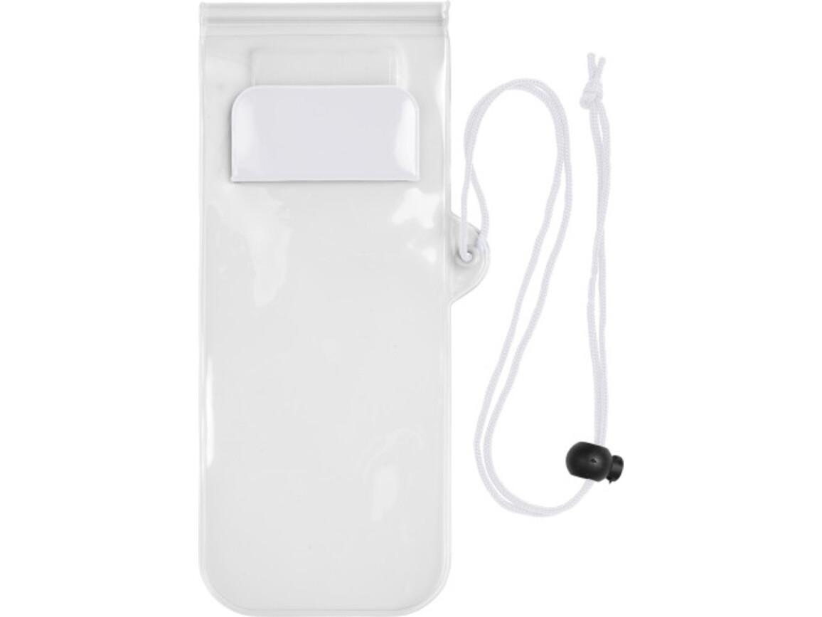 Handyschutzhülle 'Transparent', wasserresistent – Weiß bedrucken, Art.-Nr. 002999999_7807