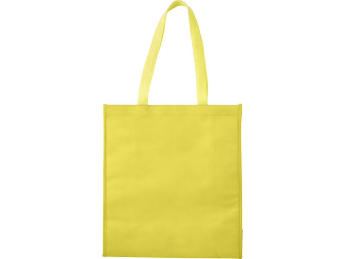 Kühltasche 'Flexi' aus Non-woven – Gelb bedrucken, Art.-Nr. 006999999_7823