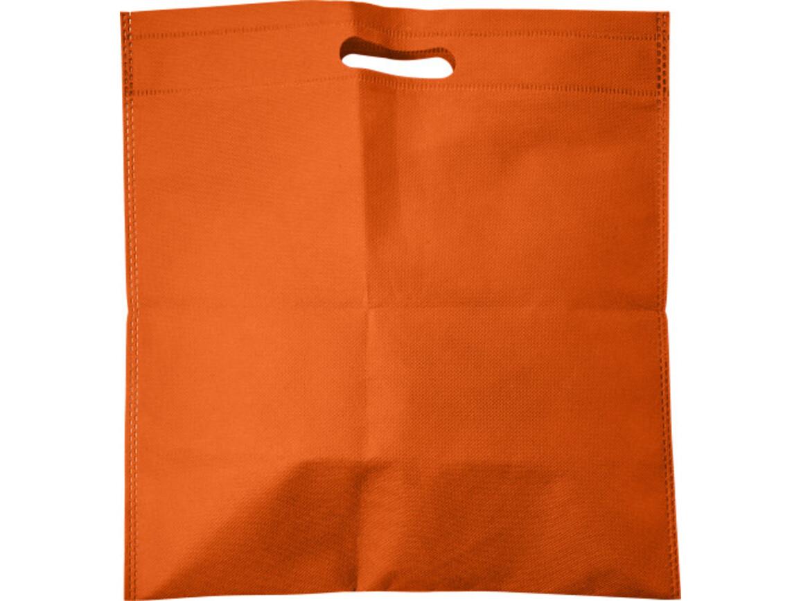 Tragetasche 'Carry' aus Non-woven – Orange bedrucken, Art.-Nr. 007999999_7858