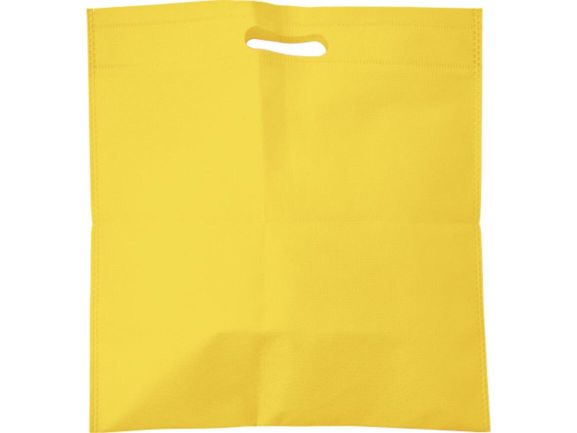 Tragetasche 'Carry' aus Non-woven – Gelb bedrucken, Art.-Nr. 006999999_7858
