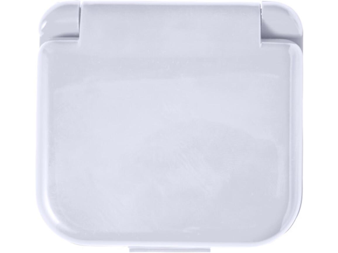 Nähset 'Stitch' in Kunststoff-Box – Weiß bedrucken, Art.-Nr. 002999999_7871
