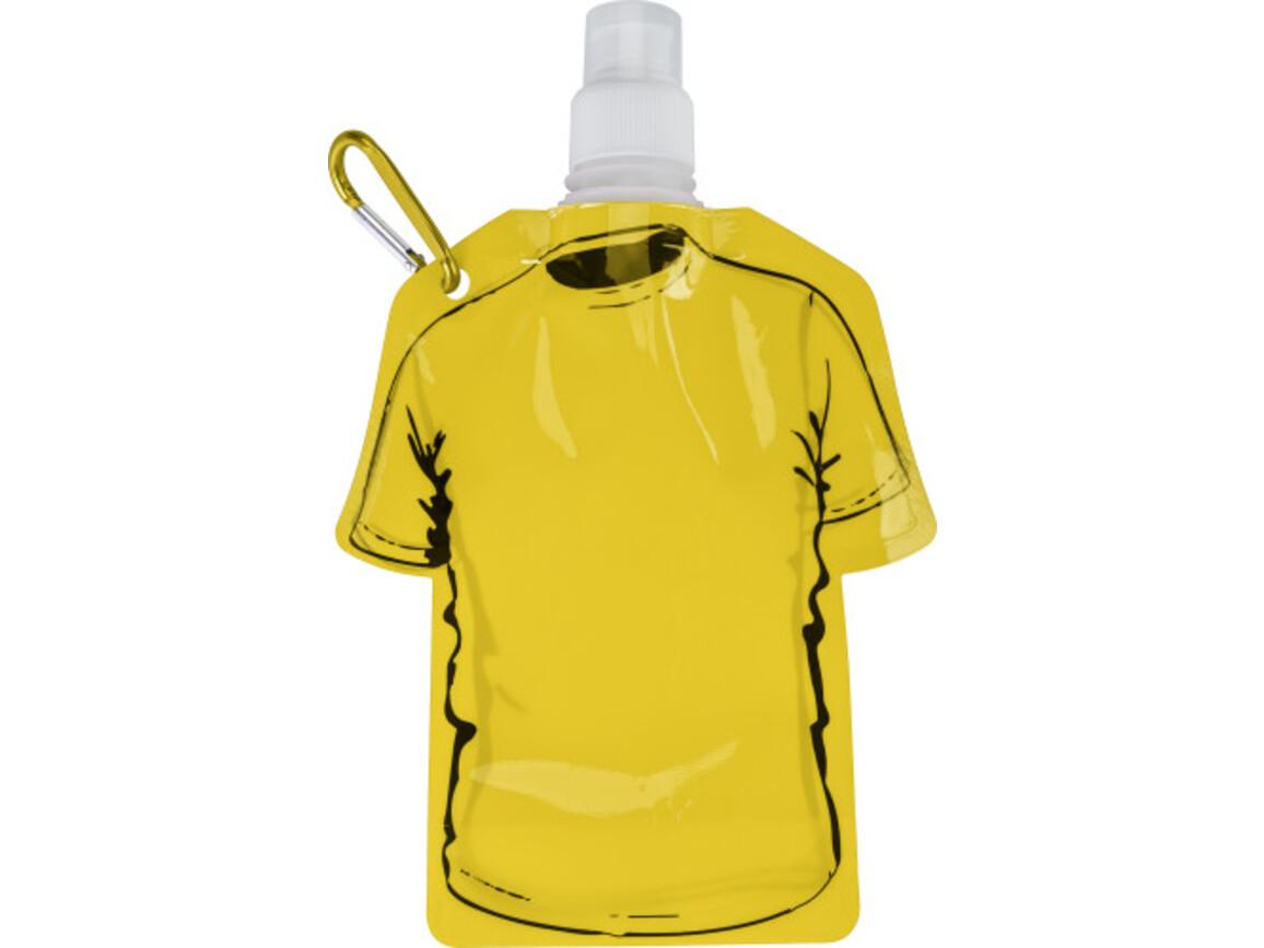 Trinkflasche 'Soccer' aus PP – Gelb bedrucken, Art.-Nr. 006999999_7877