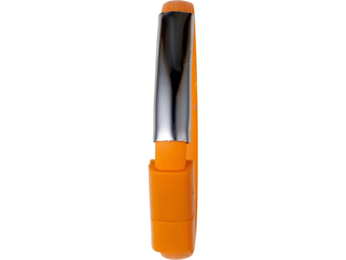 Armband 'Useful' mit Aufladekabel aus Silikon – Orange bedrucken, Art.-Nr. 007999999_7878