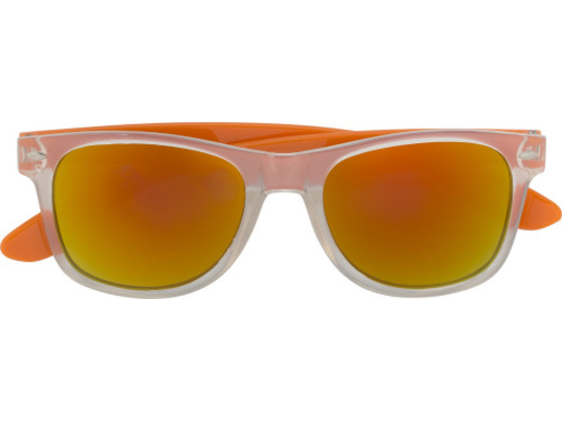 Sonnenbrille 'Malta' aus Kunststoff – Orange bedrucken, Art.-Nr. 007999999_7887