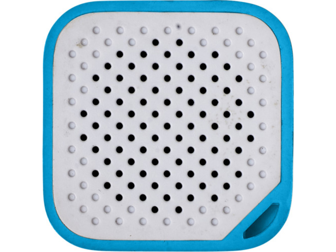 BT/Wireless-Lautsprecher 'Prio' aus Kunststoff – Blau bedrucken, Art.-Nr. 005999999_7917