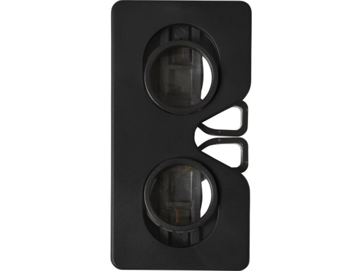 VR-Brille 'Virtual' aus ABS-Kunststoff – Schwarz bedrucken, Art.-Nr. 001999999_7928