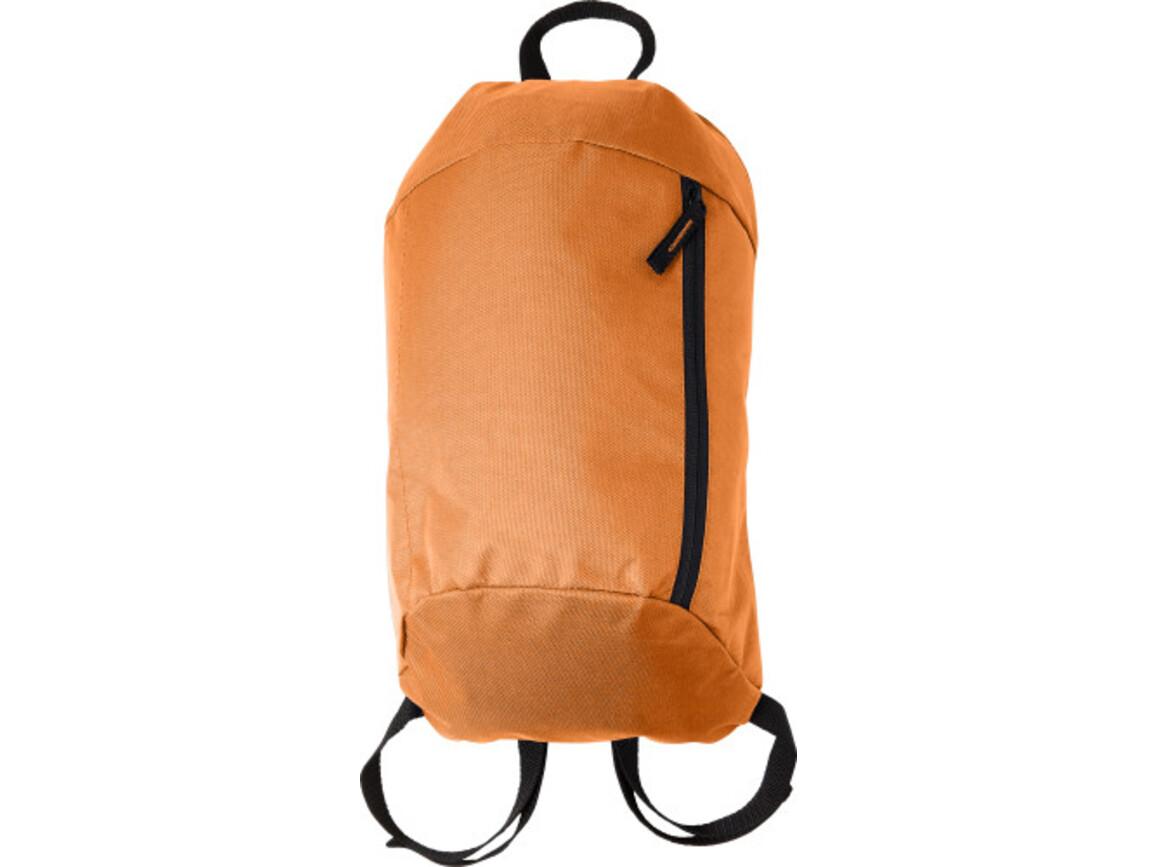 Rucksack 'Easy' aus Nylon – Orange bedrucken, Art.-Nr. 007999999_7936