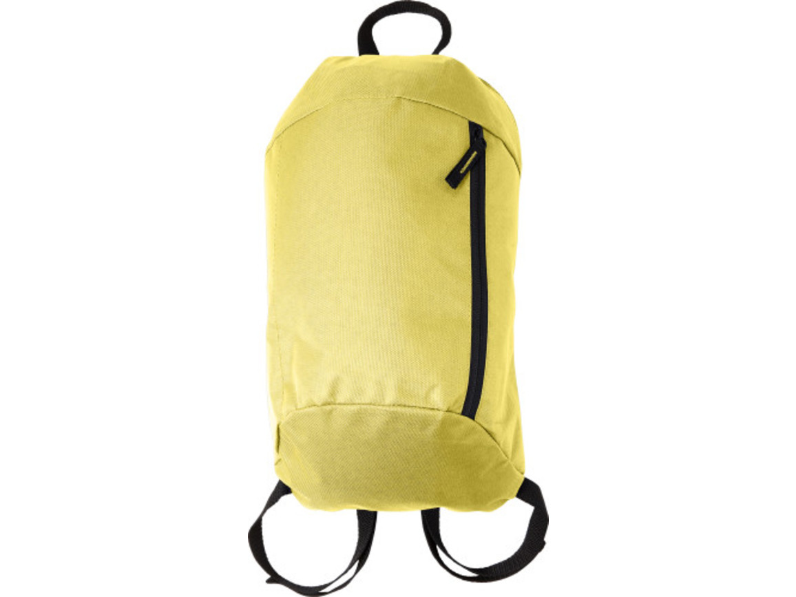 Rucksack 'Easy' aus Nylon – Gelb bedrucken, Art.-Nr. 006999999_7936