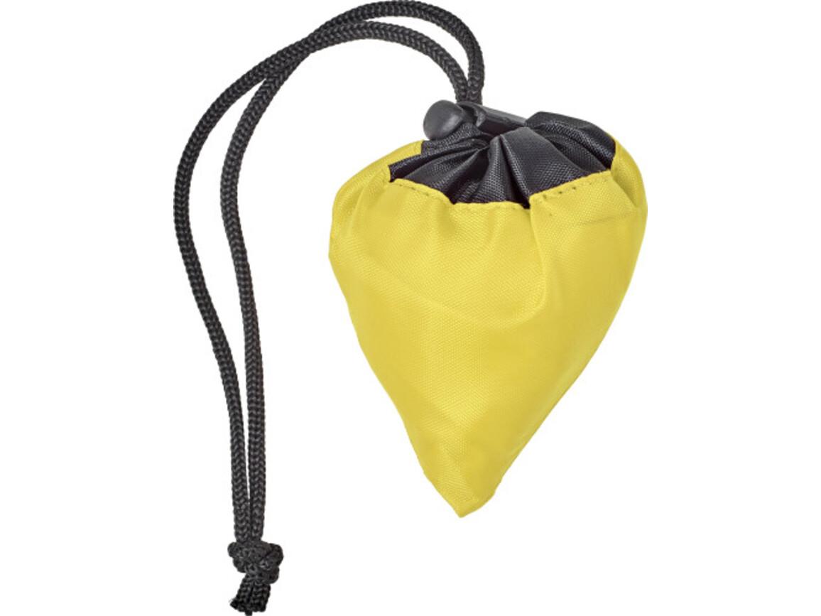 Einkaufstasche 'Moro' aus Polyester – Gelb bedrucken, Art.-Nr. 006999999_7938