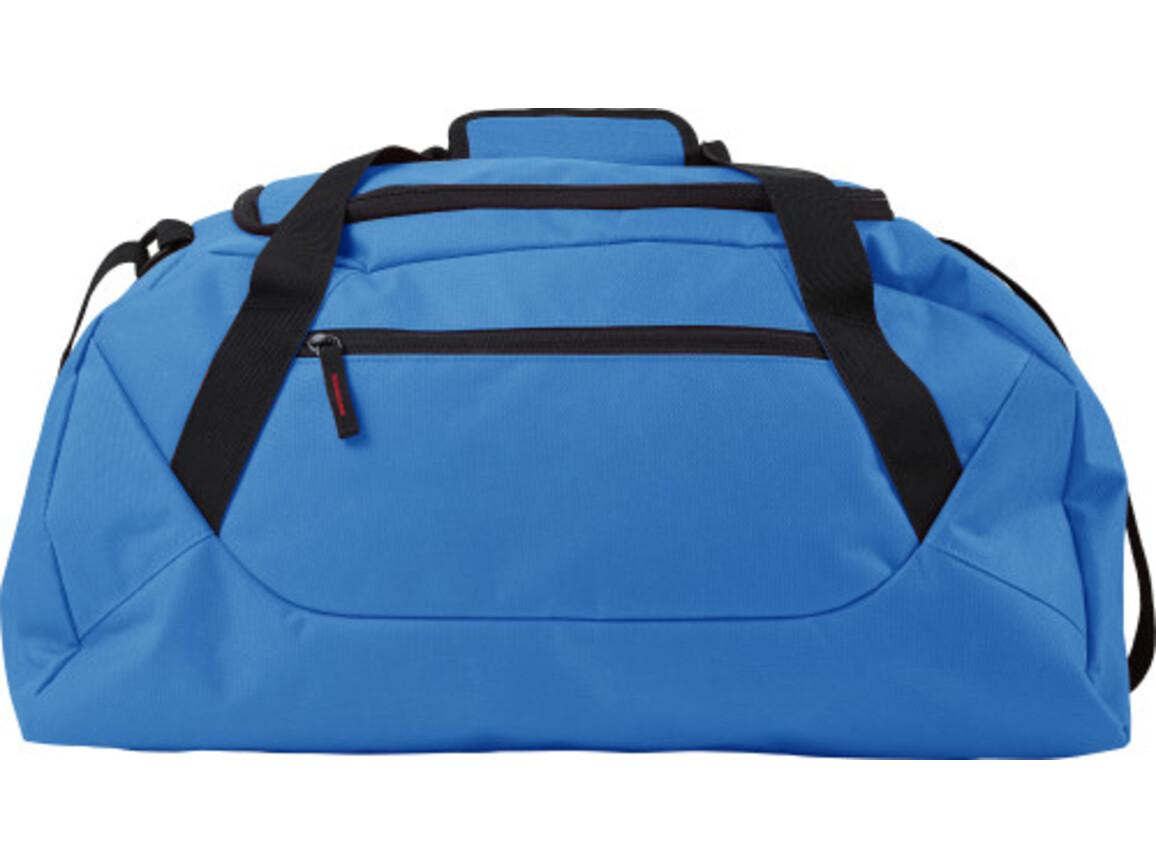 Sporttasche 'Eros' aus Polyester – Blau bedrucken, Art.-Nr. 005999999_7941