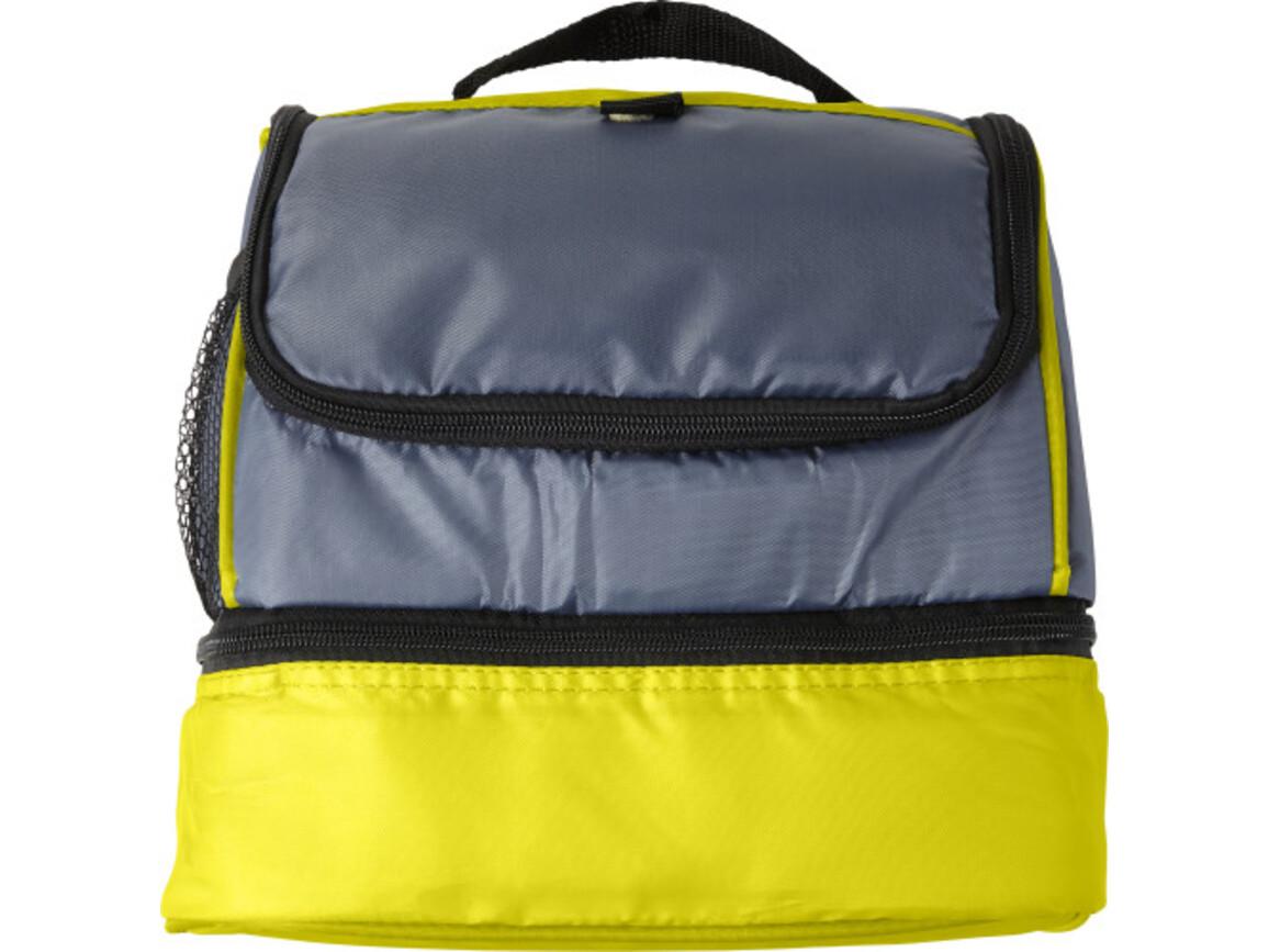 Kühltasche 'Spring' aus Polyester – Gelb bedrucken, Art.-Nr. 006999999_7942