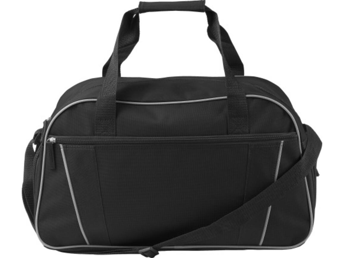 Sporttasche 'Classic' aus Polyester – Schwarz bedrucken, Art.-Nr. 001999999_7948