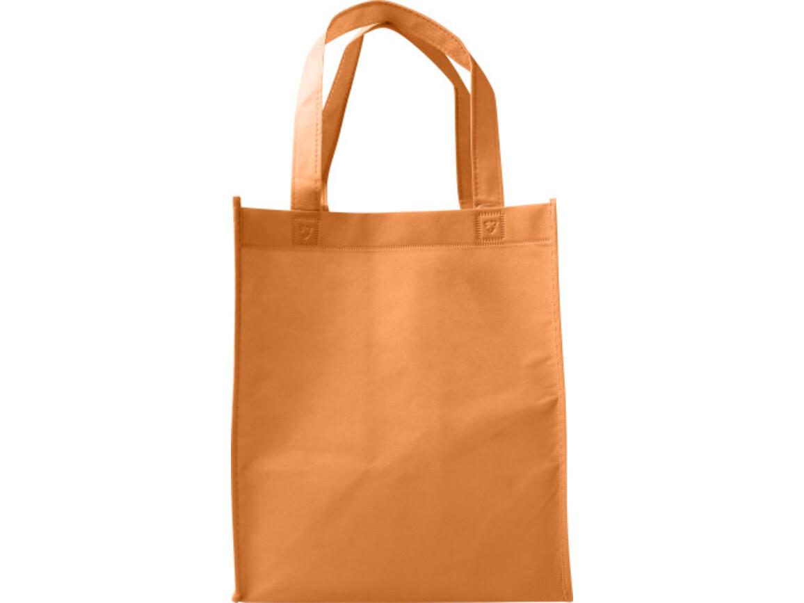 Einkaufstasche 'Town' aus Non-Woven – Orange bedrucken, Art.-Nr. 007999999_7957