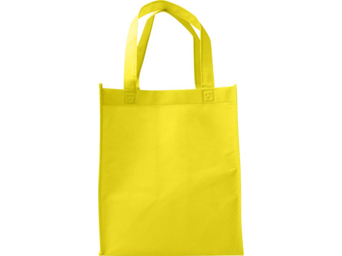 Einkaufstasche 'Town' aus Non-Woven – Gelb bedrucken, Art.-Nr. 006999999_7957