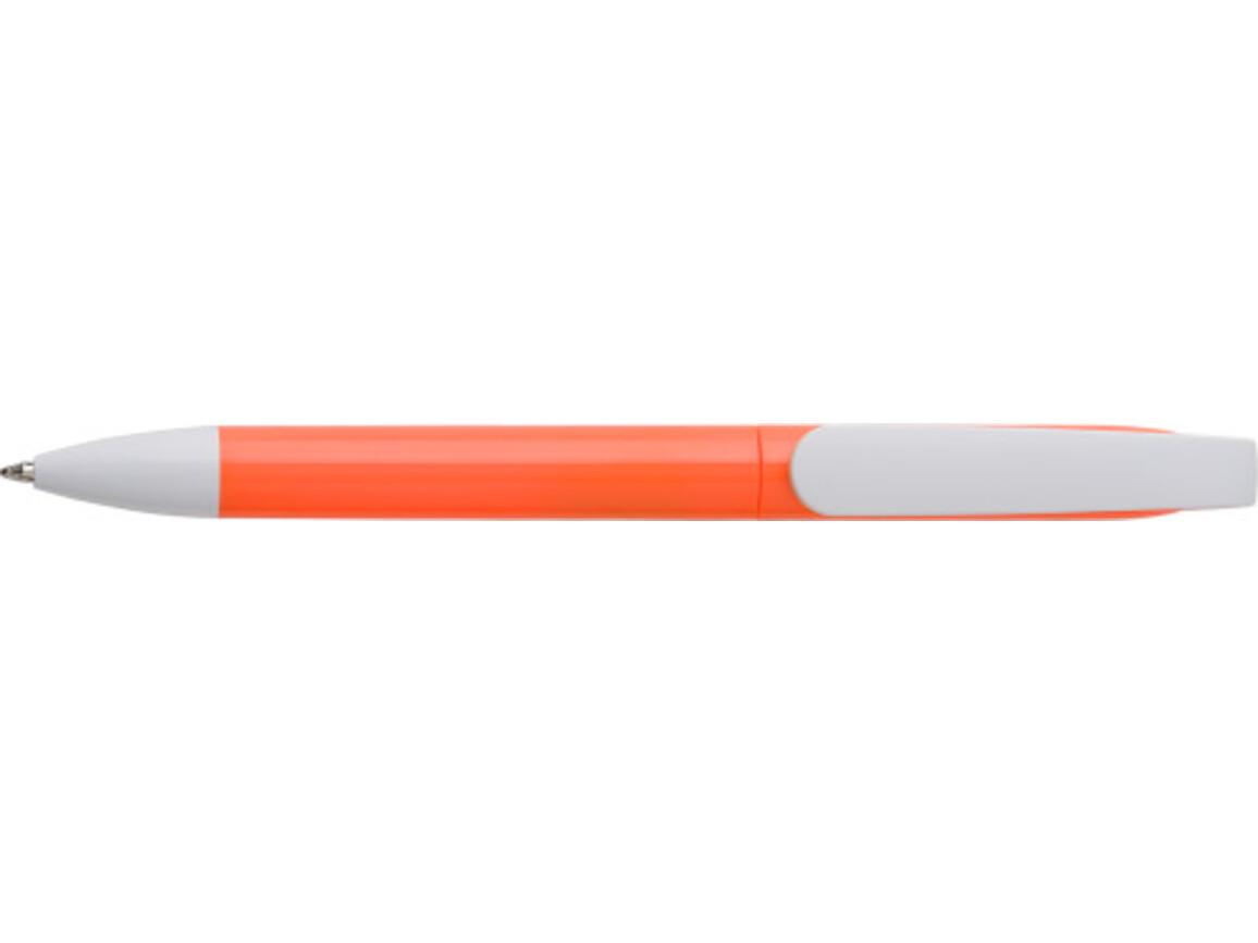 Kugelschreiber 'City' aus Kunststoff – Orange bedrucken, Art.-Nr. 007999999_7978