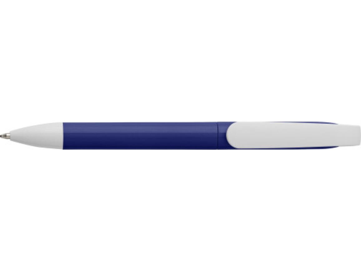 Kugelschreiber 'City' aus Kunststoff – Blau bedrucken, Art.-Nr. 005999999_7978
