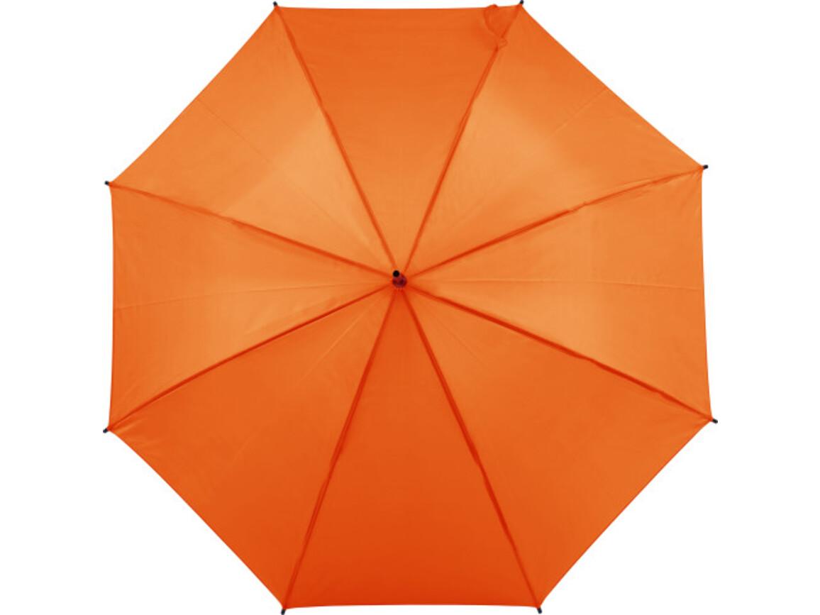 Automatischer Regenschirm 'Sandra' – Orange bedrucken, Art.-Nr. 007999999_8003